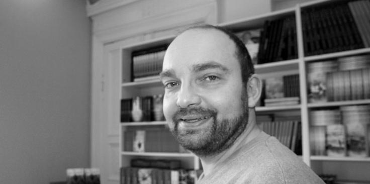 Pontus Ljunghill har brukt ti år fra ideen kom til han satt med boken i hendene