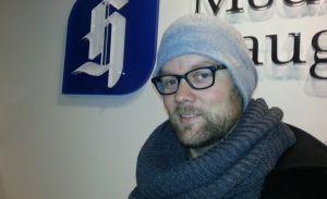 Forfatter er min egen kollega, Øystein Eide. Tidligere sportsjournalist i Haugesunds Avis.