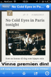 "QR-Koder viser deg vei inn til digitalt ekstramateriale. For eksempel jazzteksten ""No cold eyes in Paris tonight"""
