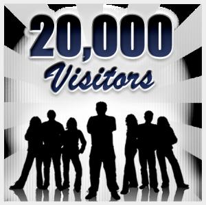 20000visitors