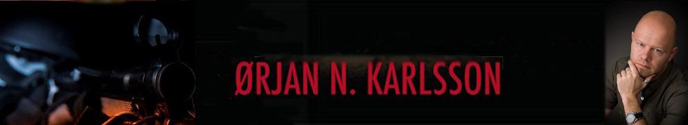 Ørjan N. Karlsson er blant de forfatterne som bruker nettet hyppigst for å fortelle om sine bøker og sitt forfatterskap. Her er link til hans hjemmeside på nett.