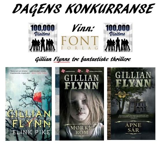 Dagens konkurranse Gillian Flynn