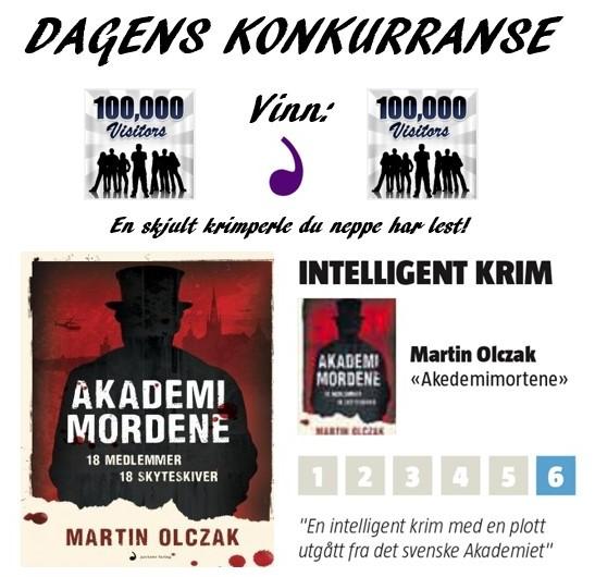 Dagens konkurranse Martin Olczak