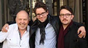 Roger Phil, Tiger Garte og Marius Hjelnes i Tigerforlaget var til enorm hjelp.  Foto: bok365.no