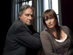 Rolf & Cilla Börjlind er forfatterekteparet som også står bak manusene til Beck-serien på TV.