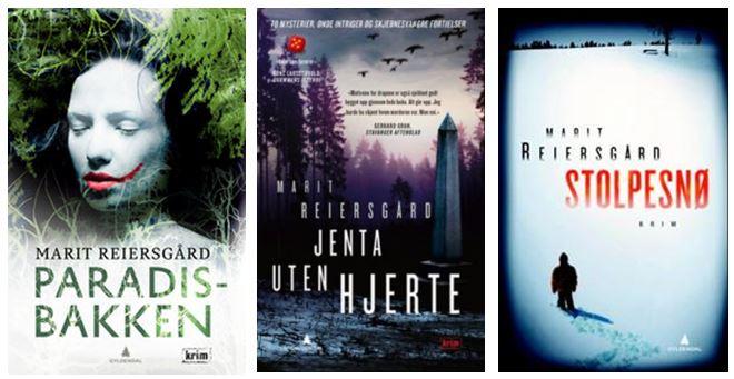 Marit Reiersgårds tre bøker om Bitte Røed og Verner Jacobsen