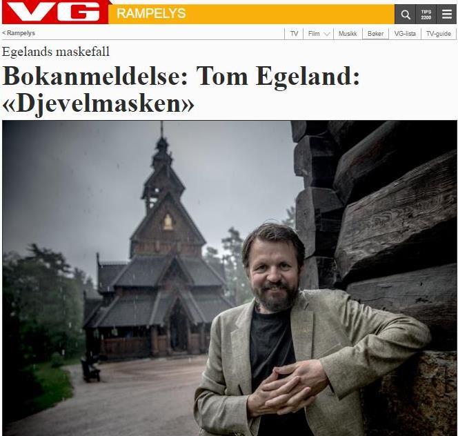 VG anmeldelse Tom Egeland