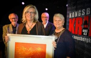 Fjorårets vinner Lene Lauritsen Kjølner. Foto: Tønsberg Blad