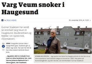 Faksimile Haugesunds Avis 05.11.2016